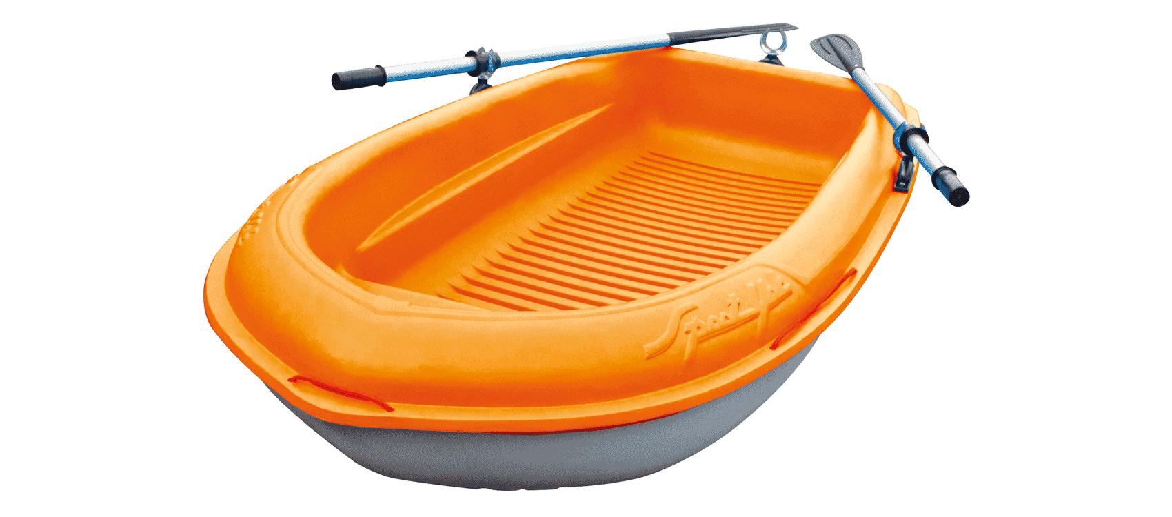 Bic 213 Fishing Boat - Orange