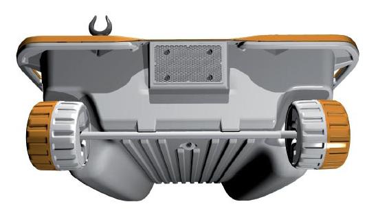 All-terrain wheels make transport easy